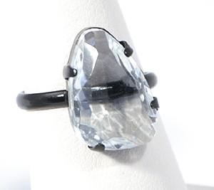 """""""Shiny stone"""" gyűrű - kristály"""