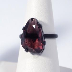 """""""Shiny stone"""" gyűrű - ametiszt"""