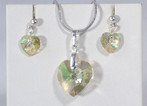 """""""Szeretlek"""" medál - glittering green"""