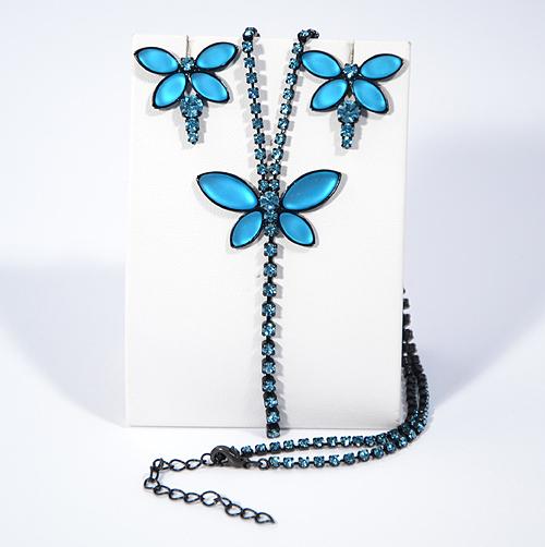 Papillon - türkizkék - 10250 Ft