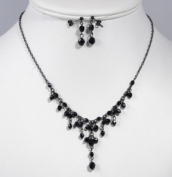 The black pearl ékszerszett