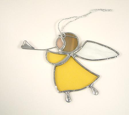 Angyalka, harsonás, sárga - 2500 Ft