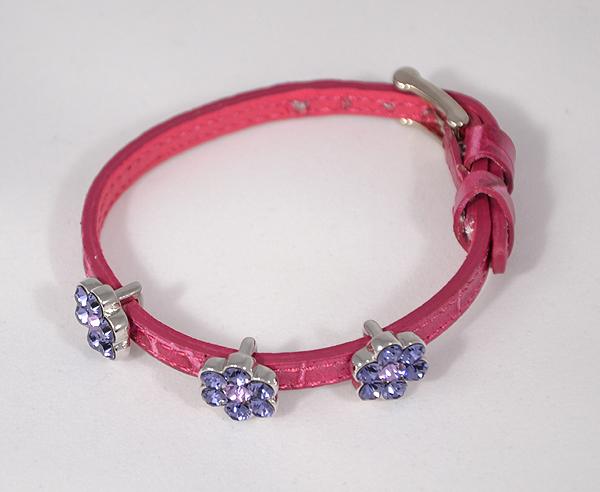 """""""Mirabell"""" karkötő - rózsaszín, Swarovski kristály"""