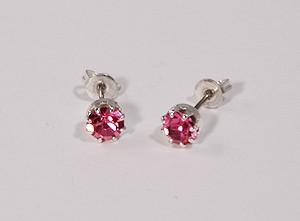 Pötty fülbevaló, rózsaszín - 750