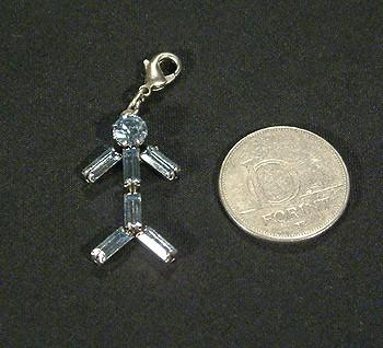 Figurine függő (kristály) - 1200 Ft