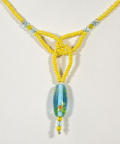 Mezei virág nyaklánc, kicsi - 1800 Ft