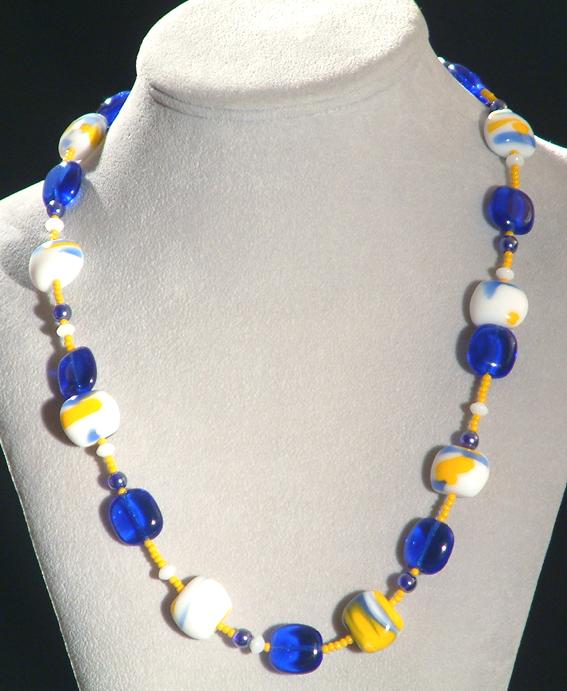 Blue Hawai nyaklánc