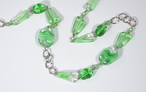 Tengerzöld nyaklánc
