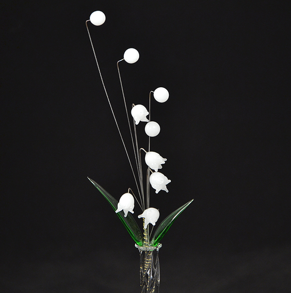 Gyöngyvirág csokor - nagy üvegvirág