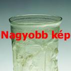 Formafújt üvegpohár