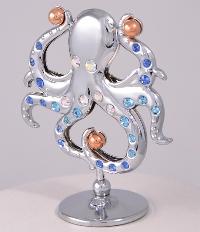 Polip Swarovski kristályokkal