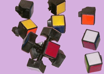 Rubik kocka belseje