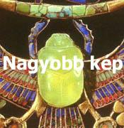 Tutankhamon melldísze
