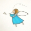 Tiffany hűtőmágnesek és angyalkák
