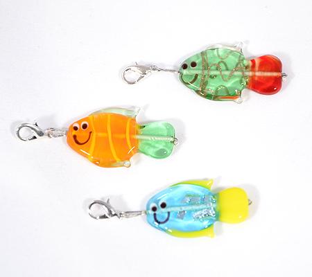 Ficánka - üveg halacska függő