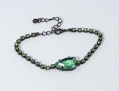 Shiny stone - zöld, 1 kővel - 3000 Ft