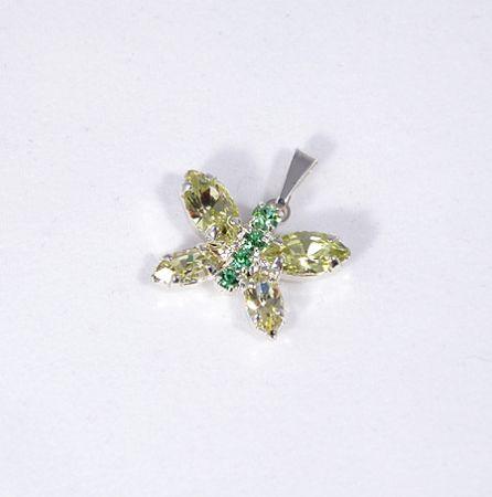 Butterfly medál (kristály) - 1600 Ft