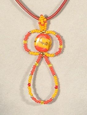 Jacquard nyaklánc - 2000 Ft