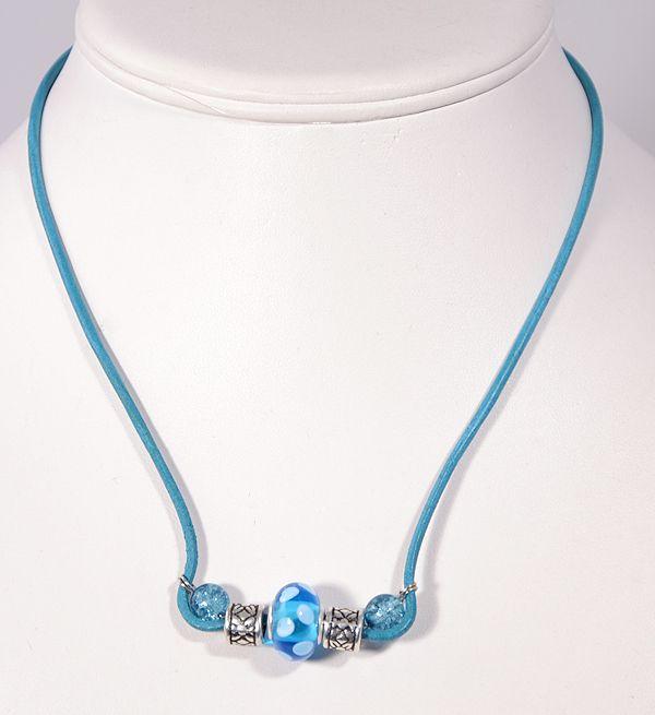 Kitti nyaklánc, kék - 1500 Ft