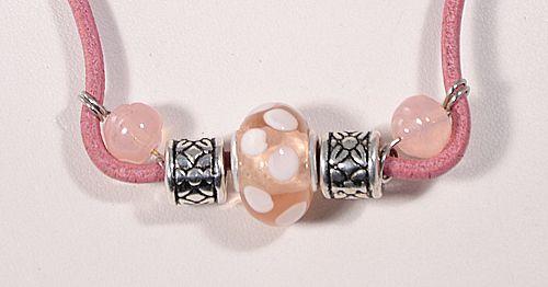 Kitti nyaklánc, rózsaszín - 1500 Ft