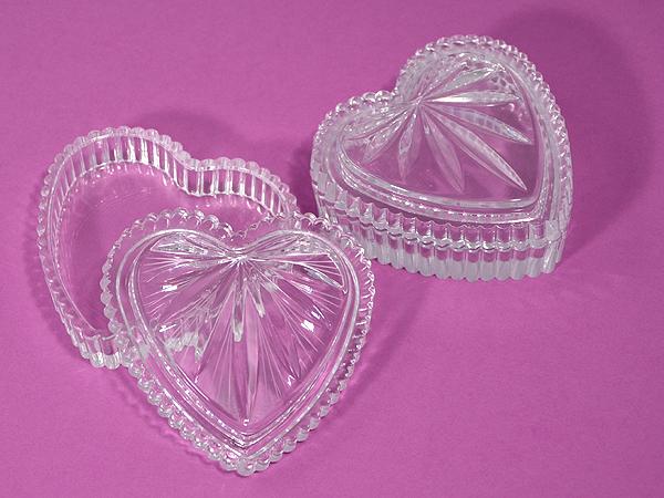 Tiszta szív kristálydobozka
