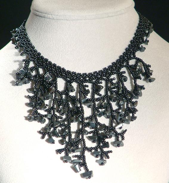 Fekete korall nyakék
